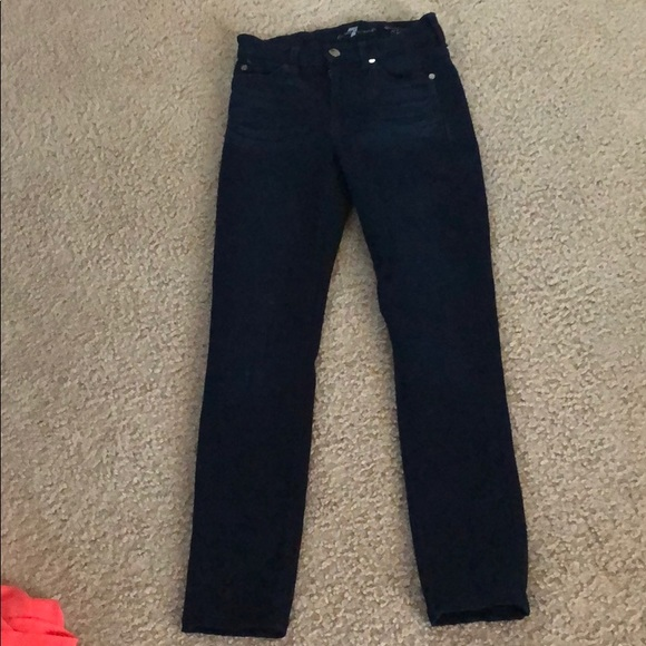 7 For All Mankind Denim - EUC 7 for All Mankind Mid-Rise Skinny